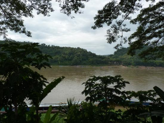 The Apsara Rive Droite: View from the balcony