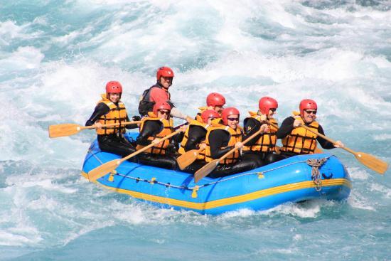 Queenstown, Nova Zelândia: Kawarau river rafting