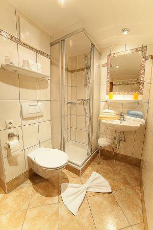 Romantische Appartments Sinnhubbauer: Dusche/WC