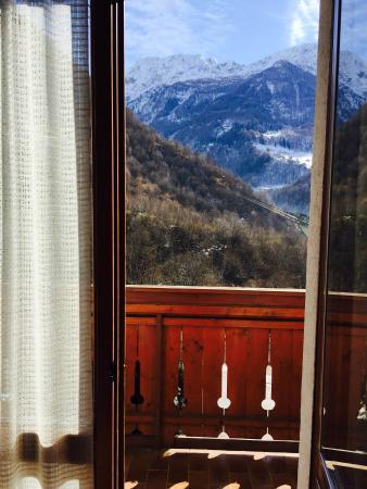 Genzianella: vista balcone