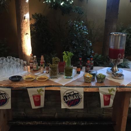 Creations - Sawridge Inn: Build your own Caesar Bar