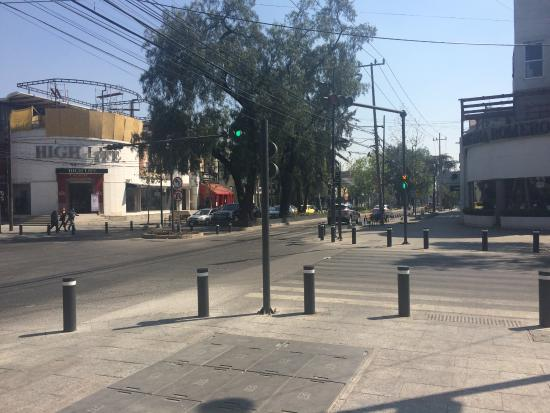 Avenida Presidente Masaryk: Nice to visit on a weekend, and have lunch in Polanco