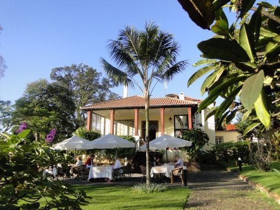 Breakfast on the terrace picture of quinta jardins do for Breakfast terrace