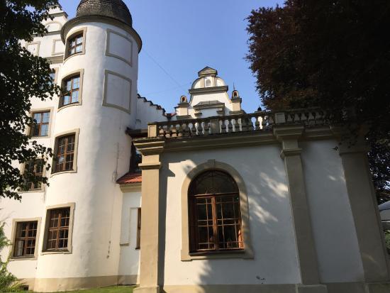 Krag, Pologne : fragment zamku