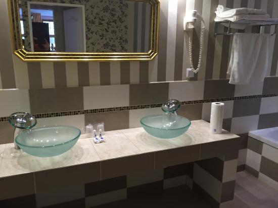 Krag, Pologne : łazienka