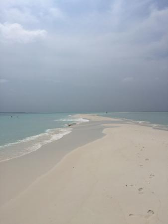 Beautiful Island with minor faults