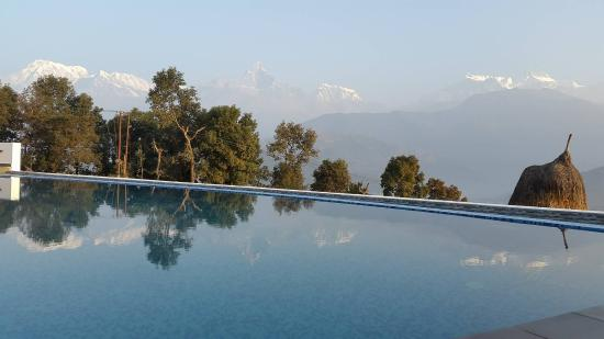 Mountain Views Picture Of Himalayan Front Hotel Pokhara Tripadvisor