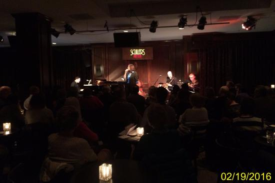 Scullers Jazz Club: looks like it
