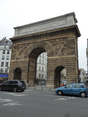 Porte saint martin foto di 10th arrondissement parigi for Porte saint martin