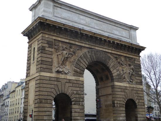 Porte saint martin fotograf a de 10th arrondissement for Porte saint martin