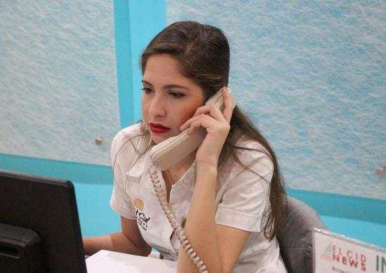 bd2f220d3eac0f El Cid Castilla Beach Hotel: The most helpful and pleasant young lady at  the Elite