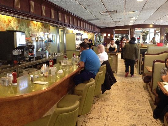 Tiffany Diner: counter area