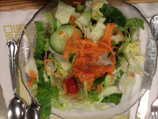 Tiffany Diner: Mixed green salad