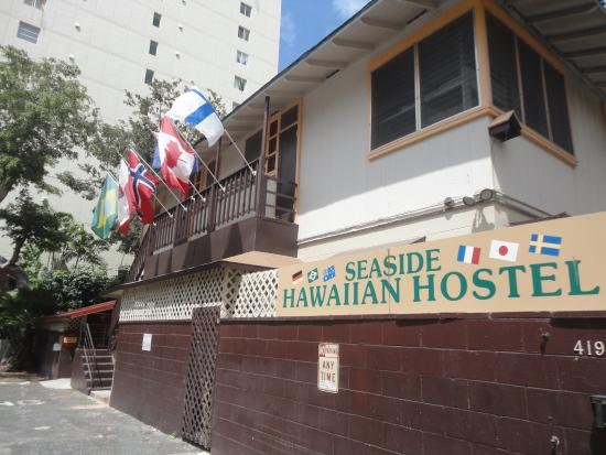 Seaside Hawaiian Hostel: Fachada do hostel
