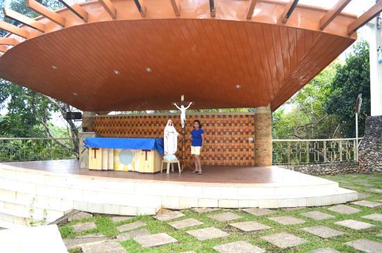 Monte Cueva Shrine: The Altar at Monte Cueva