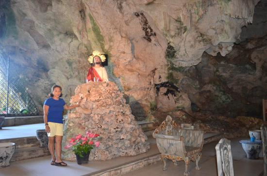Monte Cueva Shrine: Inside the Cave