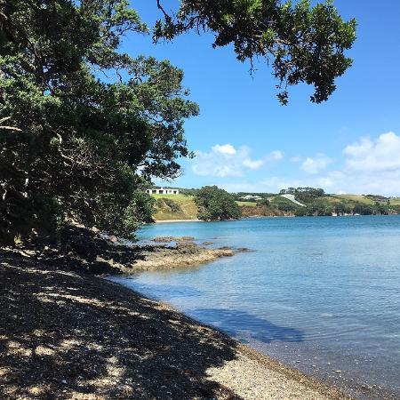 Pulau Waiheke, Selandia Baru: Waiheke Island Te Miro Cove