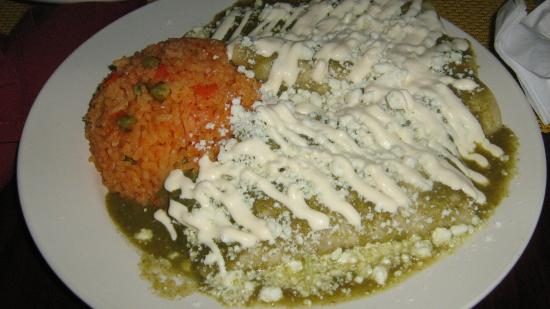 Vineland, Nueva Jersey: Green Chicken Enchillada