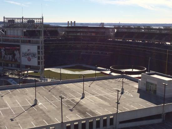 View Of Nationals Park From Rooftop Bar Picture Of