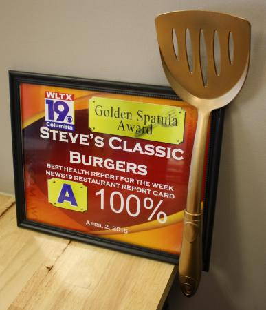 golden spatula picture of steve s classic burgers columbia