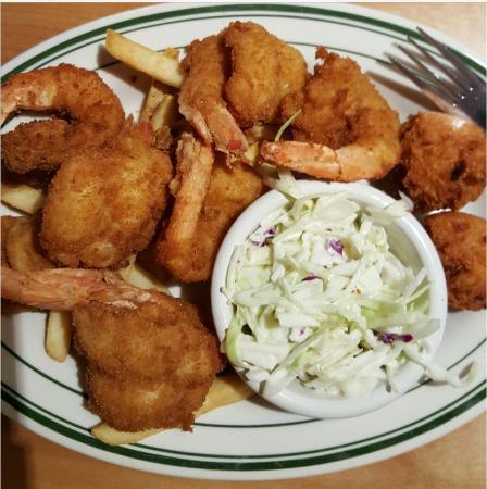 Colossal Fried Shrimp! - Picture of Sea Island Shrimp House