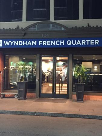 location picture of wyndham new orleans french. Black Bedroom Furniture Sets. Home Design Ideas