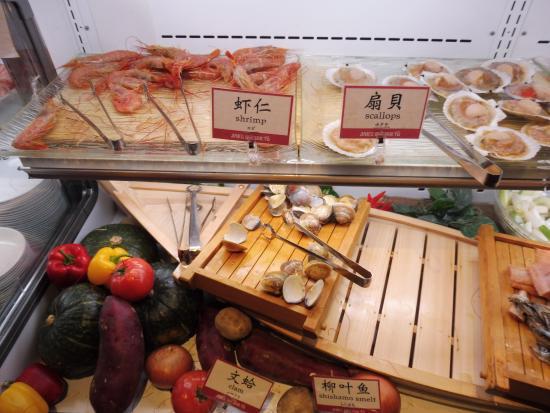 Japanese Buffet Dining Den: The Buffet