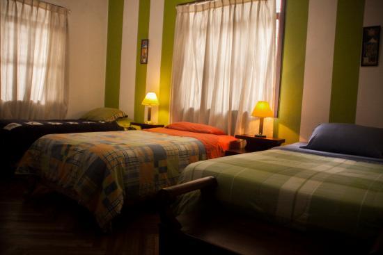 Villa Nancy Bed & Breakfast : Habitación Triple