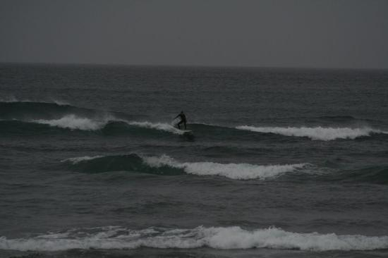 This was a photo Brett from Rapu Surf Tours took of me!
