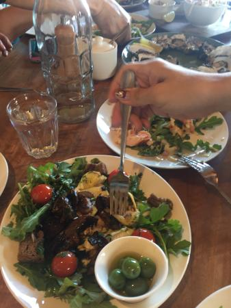 Bangor Vineyard Shed: Almost all the dishes in the menu less the mussels