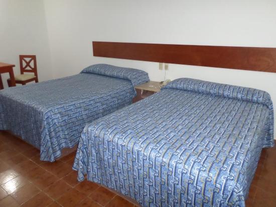 Hotel Suites Mediterraneo Veracruz-Boca del Río: Superior 2 camas matrimoniales
