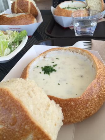 Crab Mac and Cheese - Picture of Boudin Sourdough Bakery & Cafe, San ...