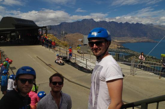 Queenstown, Nowa Zelandia: Scenic ride first to get used to controls