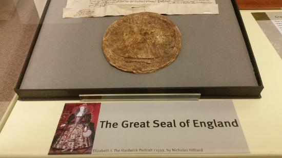 The Great Seal Of England Picture Of Rutland County Museum