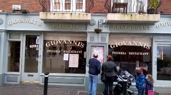 Giovanni's Pizzeria Restaurant Malahide Dublin