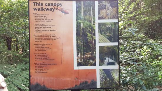 Whangarei, New Zealand: Info sign