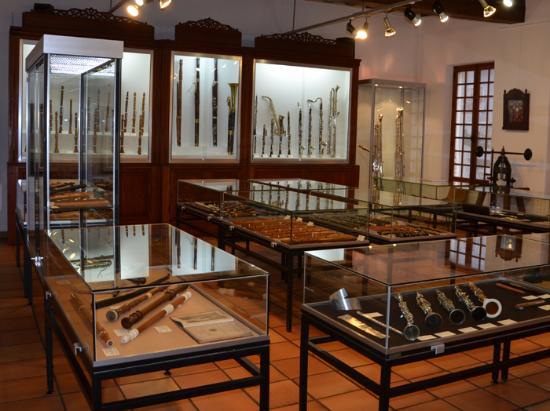 La Couture Boussey, Francia: Salle d'exposition du Musée des instruments à vent