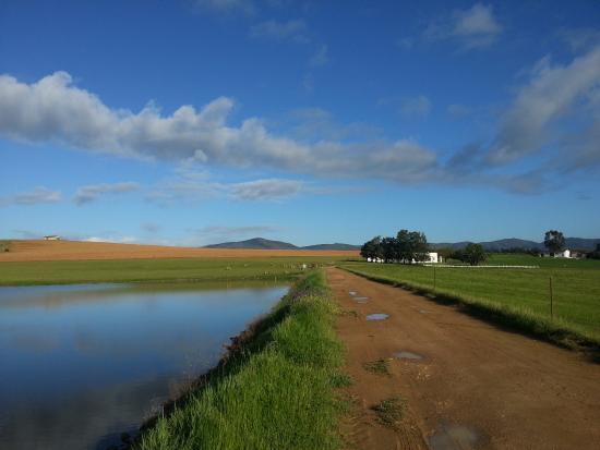 Hermon, Sør-Afrika: Dam entrance