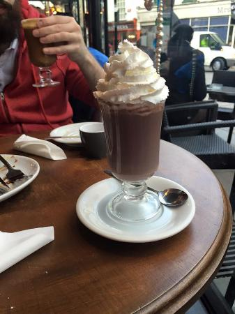 Baileys Hot Chocolate Picture Of Eleto Chocolate Cafe