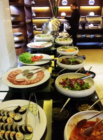 breakfast buffet picture of halong paradise suites hotel tuan rh tripadvisor com