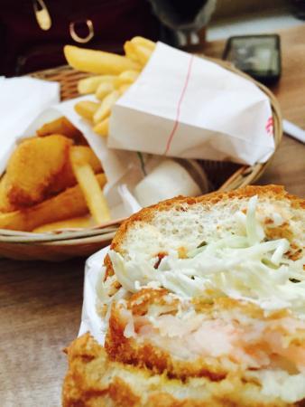 Mos Burger: Set meal :)