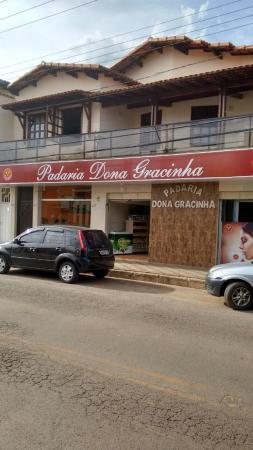 Bocaiuva, MG: Padaria é muito bem localizada. A decoração é perfeita!