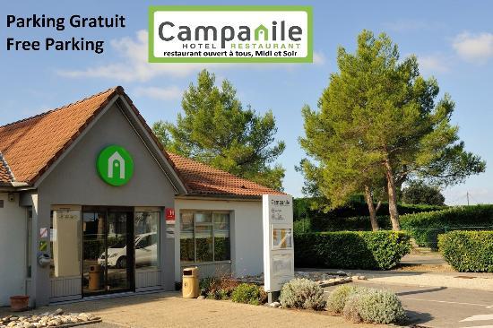 Campanile Orange : bâtiment acceuil