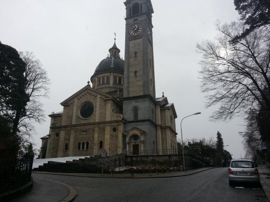 Kirche Enge : Vista exterior