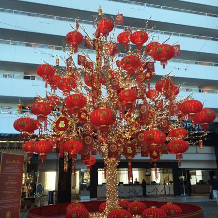 Lobby decorations for chinese lunar new year picture of - Lunar new year decorations ...