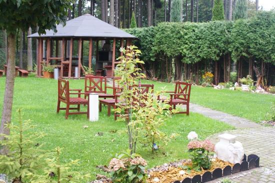 Hotel Rydz: Ogród