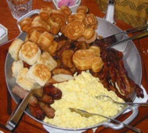 Stitch at the ohana character breakfast picture of ohana for Food bar ohana