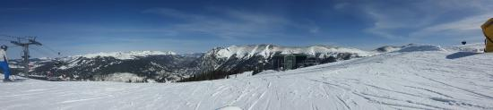 Copper Mountain, קולורדו: Amazing view and great time snowboarding