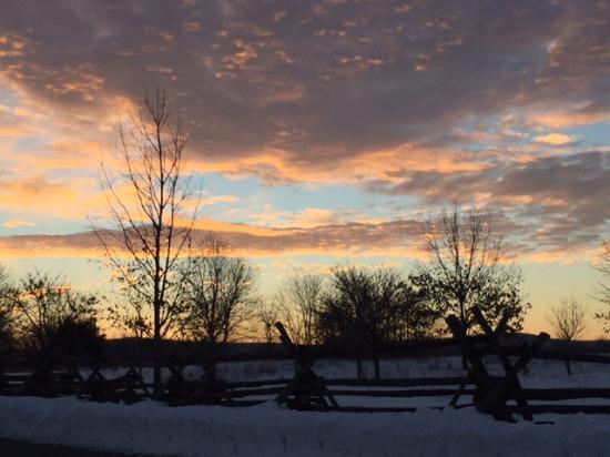 Sharpsburg, MD: Sunrise over Antietam