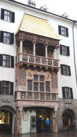 Hotel Eagles Inn : Goldenes Dachl in Innsbruck